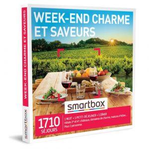 Smartbox Coffret cadeau Week-end charme et saveurs