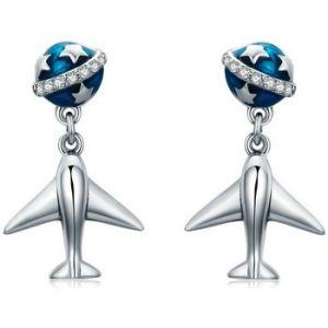 Blue Pearls Boucles oreilles CRY C2316 J Autres - Taille Unique