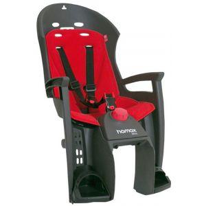 Hamax Siesta - Siège enfant - porte-bagages gris/rouge Sièges enfant