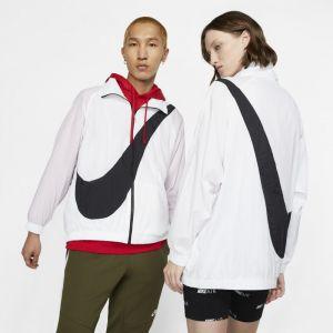 Nike Veste tissée avec Swoosh Sportswear - Blanc - Taille M - Unisex