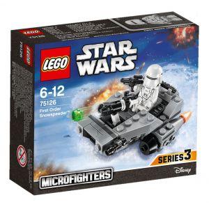 Lego 75126 - Star Wars : Le Snowspeeder du Premier Ordre