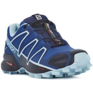 Image de Salomon Femme Speedcross 4 Chaussures de Trail Running, Bleu (Poseidon/Eggshell Blue/Black), Taille: 41 1/3