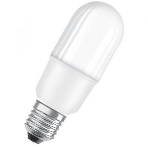 Osram Ampoule LED E27 stick dépolie 10 W équivalent a 75 W blanc froid - Culot : E27 - Puissance : 10 W - Equivalence : 75 W - Flux lumineux : 1050 lm.