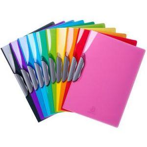 Exacompta 45670E - Chemise CLIP-DESIGN IDERAMA PP, coloris assortis (10)