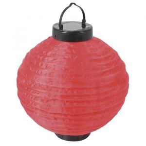 Lampion solaire à suspendre Rouge