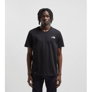 The North Face S/S Simple Dome Tee - T-shirt taille S, noir