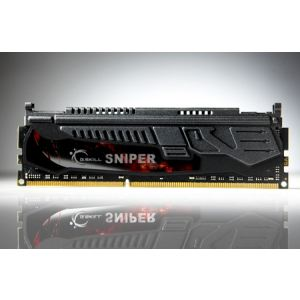 G.Skill F3-14900CL9D-8GBSR - Barrettes mémoire Sniper 2 x 4 Go DDR3 1866 MHz CL9 Dimm 240 broches