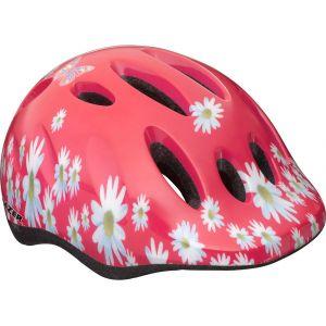 Lazer Sport Max+ Flower Girl 49-56 cm - Casque vélo pour fille rose