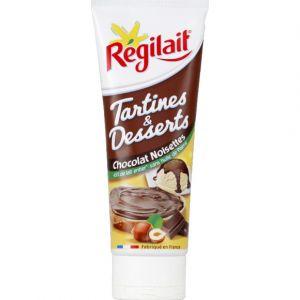 Régilait Tartines & Desserts chocolat noisettes - Le tube de 300 g