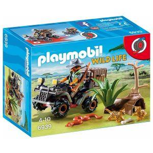Playmobil 6939 Wild life - Braconnier avec quad