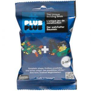 Plus Plus 52113 - Jeu éducatif de construction Mini Basic 35 Pièces Bleu