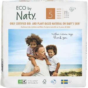 Eco by Naty By Nature Babycare - Couches : Taille 5