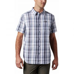 Columbia Chemise Brentyn Trail SS Seersuc blanc - Taille S,M