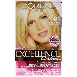 L'Oréal Excellence Creme Crema Colorante - 01 Biondo Ultra Chiaro Naturale