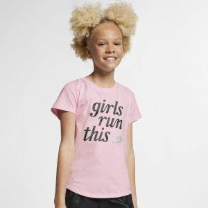 Nike Tee-shirt Sportswear pour Fille plus âgée - Rose - Taille M - Female