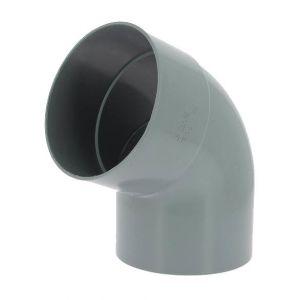 Adequa Coude PVC mâle-femelle 67°30 O160