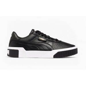 Puma Cali Wn's, Baskets Basses Femme Noir Black White 03) 38 EU