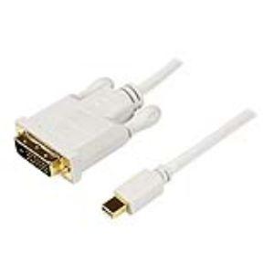 StarTech.com MDP2DVIMM10W - Câble Mini DP / DVI-D 1080p / 1920x1200 3 m