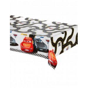 Nappe en plastique Cars 3 (120 x 180 cm)