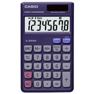 Casio SL-300 - Calculatrice de poche