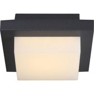 Globo Lighting Lampe d'extérieur Globo OSKARI LED Gris, 1 lumière - Design - Extérieur - OSKARI