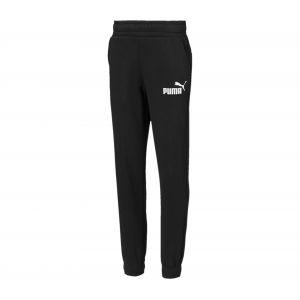 Puma Jogging enfant Pantalon de survêtement Ess logo Garçon Noir - Taille 6 ans,8 ans