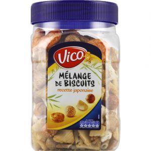 Vico Mélange de biscuits, recette japonaise - Le bocal de 180g
