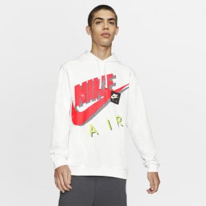 Nike Sweatà capuche Sportswear pour Homme - Blanc - Taille 2XL - Male