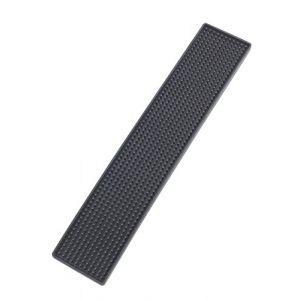 Wenko 54700100 Slim Tapis Égouttoir Plastique Noir