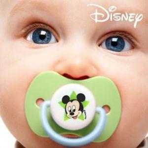 2 tétines Mickey en silicone