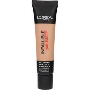 L'Oréal Infaillible Matte Fond de Teint - 32 Ambre - 24 h