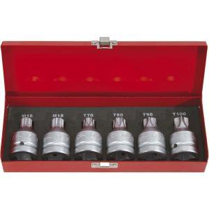 KS Tools 515.0012 - Jeu d'embouts à choc M16 Ø 40 mm
