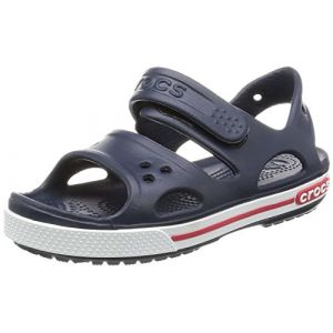 Crocs Band 2, Sandales mixte enfant,Bleu (Navy/White), 19-20 EU