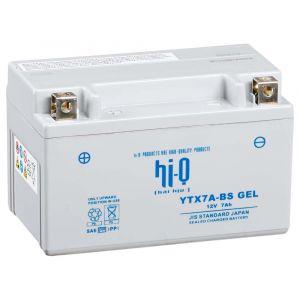 Hi-Q Batterie YTX7A-BS AGM Fermé sans entretien