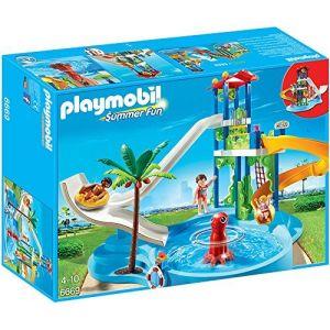 Playmobil 6669 Summer Fun - Parc aquatique avec toboggans géants