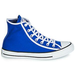 Converse Chaussures Basket toile haute CHUCK TAYLOR ALL STAR HI Blanc/bleu bleu - Taille 42,45