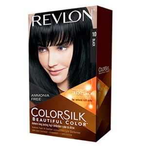 Revlon Colorsilk 10 noir - Coloration permanente sans amoniaque