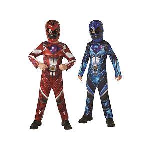 Rubie's Déguisement Power Rangers Bi Pack Classique Rouge & Bleu