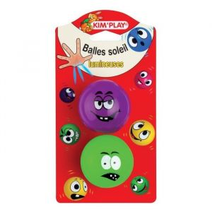 Kim'play Balles soleil x 2 - 55mm