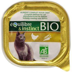 Martin Sellier Pâtée Bio Chat Volaille 100g