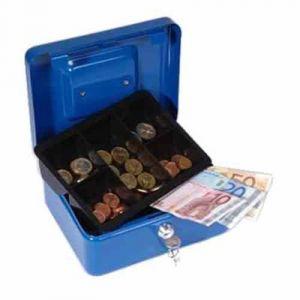 Caisse a monnaie 207x157x77mm