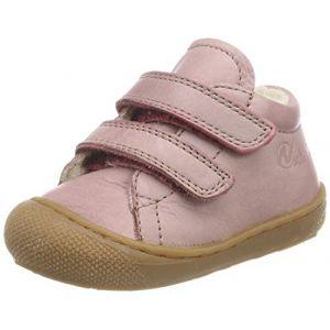 Naturino Cocoon VL, Sneakers Basses bébé Fille, Rose (Rosa Antico 0m01), 26 EU