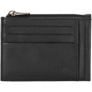 Nuvola Pelle Portefeuille Porte cartes de crédit en cuir Nappa - Brad - Noir multicolor - Taille Unique