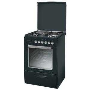 Rosières RMP 6376 - Cuisinière mixte 3 foyers gaz avec four électrique
