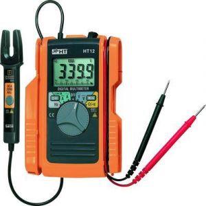 HT Instruments HT12 Multimètre pince ampèremétrique numérique CAT II 600 V, CAT III 300 V