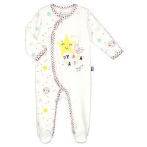 2b74c186f5d42 Petit Béguin Pyjama bébé Happy Citron - Gris - Manches longues ...