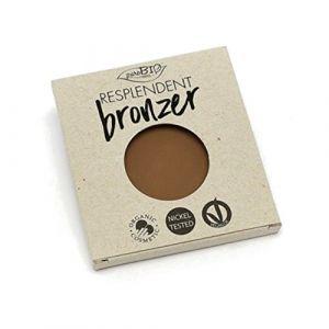 PuroBio Cosmetics Resplendent Bronzer REFILL 01 Marrone Pallido (mate) - 9 g