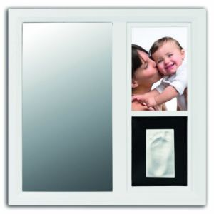Baby Art Cadre photo Mirror Print Frame avec empreinte