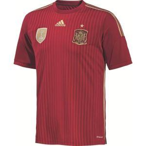 Adidas G85279 - Maillot de foot à domicile Espagne Coupe du Monde 2014 homme