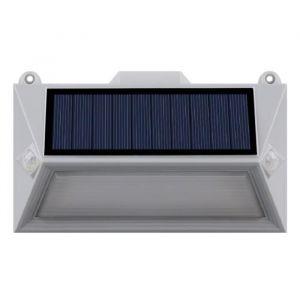 Lumisky Spot solaire mural extérieur étanche avec détecteur 18 LEDs - 150 Lm - Pivotante à 360°C